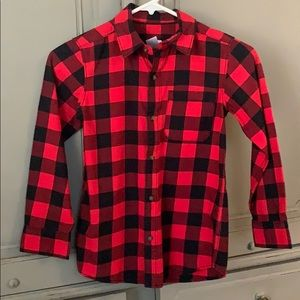 Boys Buffalo Plaid Shirt